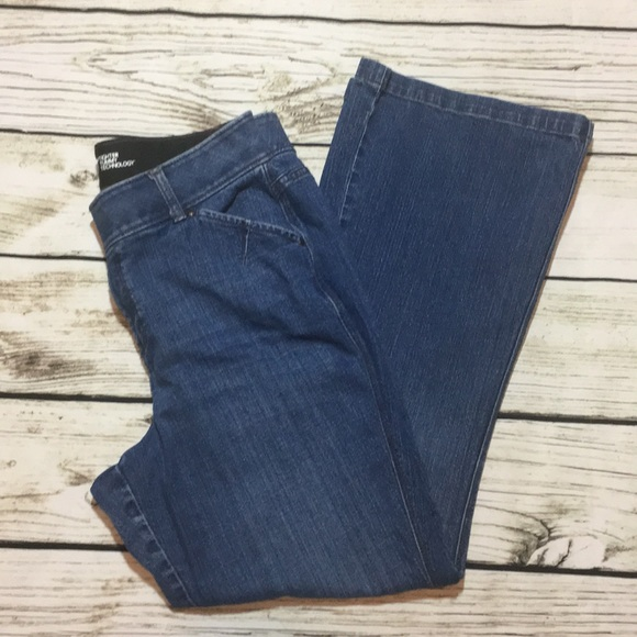 faa1a485967ee Lane Bryant Denim - Lane Bryant T3 tight tummy technology flare jeans